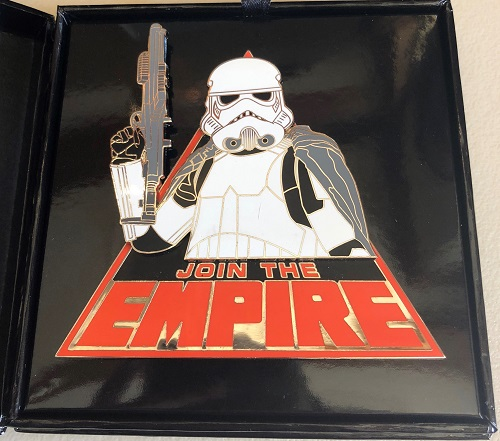 Star Wars Join the Empire Jumbo Pin
