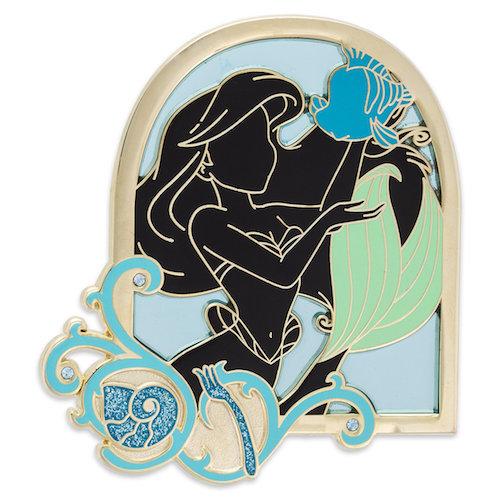 Stunning Silhouettes Ariel Pin – shopDisney