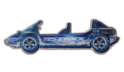 Test Track Lenticular Pin