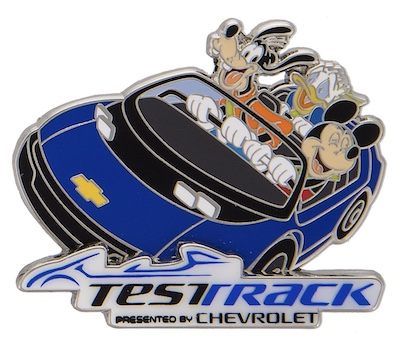 Test Track Mickey & Friends Pin