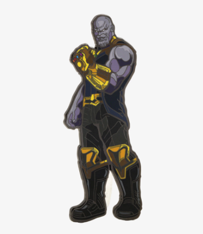 Thanos Character Pin