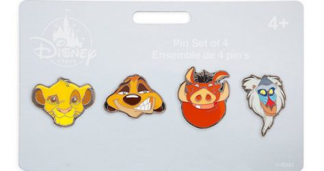 The Lion King Pin Set by Loungefly