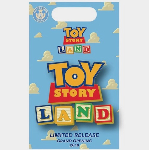 Toy Story Land Logo x BoxLunch Pin