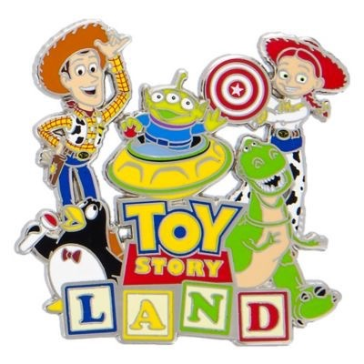 Toy Story Land Open Edition Pin