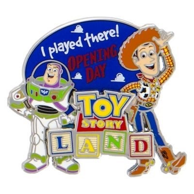 Toy Story Land Opening Day LE Pin Preview