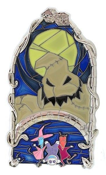 Windows of Evil Oogie Boogie Pin