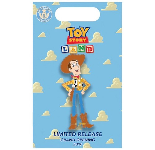 Woody Toy Story Land x BoxLunch Pin