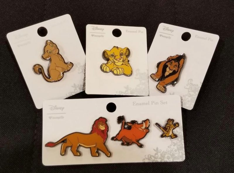 Lion King Boxlunch Disney Pins