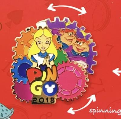 Alice in Wonderland PIN GO 2018 Pin