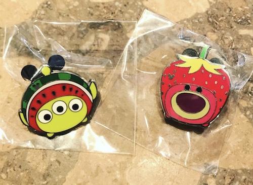 Alien and Lotso HKDL Hidden Mickey Pins
