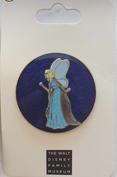 Blue Fairy Pin - The Walt Disney Family Museum
