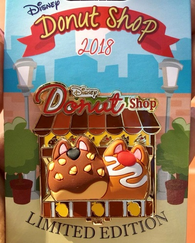 Chip & Dale Donut Shop Pin