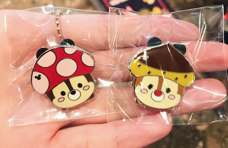 Chip and Dale HKDL Hidden Mickey Pins