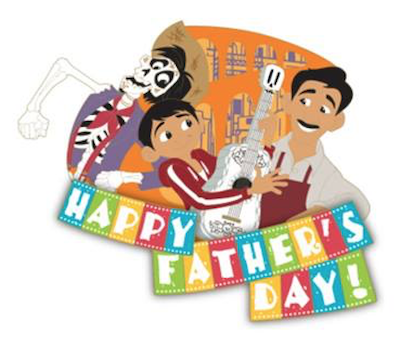 Coco Father's Day Pin