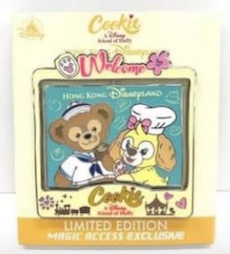 Cookie and Duffy Magic Access Member Exclusive