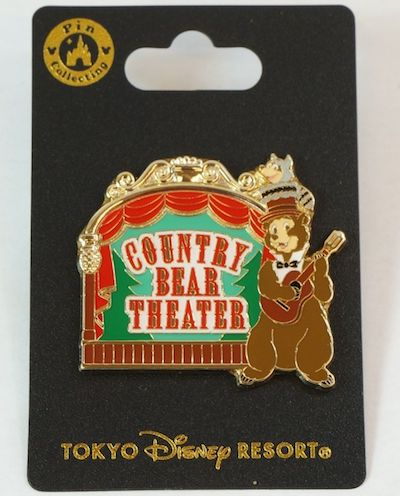Country Bear Theater 2018 Tokyo Disney Resort Pin