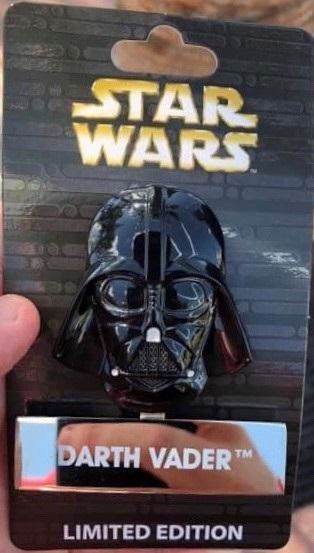 Darth Vader Helmet Pin