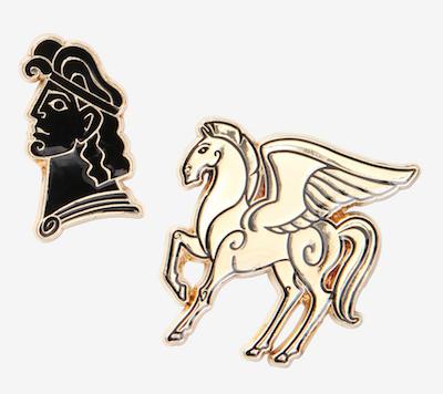 Disney Hercules Pegasus Enamel Pin Set