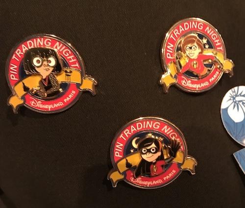 Disneyland Paris Pin Trading Night Incredibles Pins