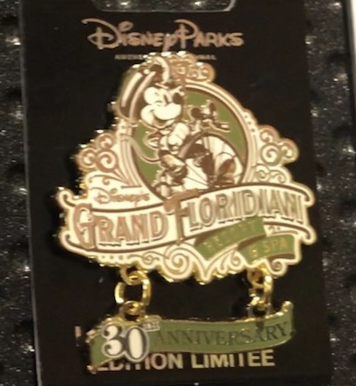 Disney's Grand Floridian 30th Anniversary Pin