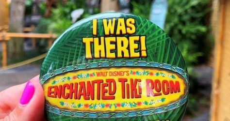 Enchanted Tiki Room 55th Anniversary Button