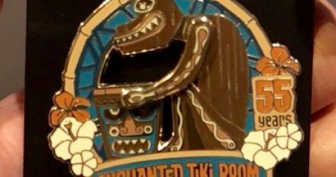 Enchanted Tiki Room Disneyland 55 Years Cast Member Pin