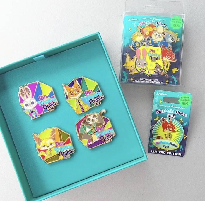 HKDL June 2018 Pin Trading Night Zootopia Pins