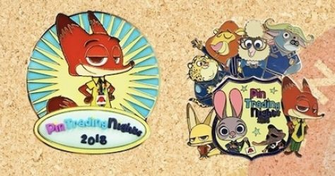 HKDL Pin Trading Night Zootopia Pins