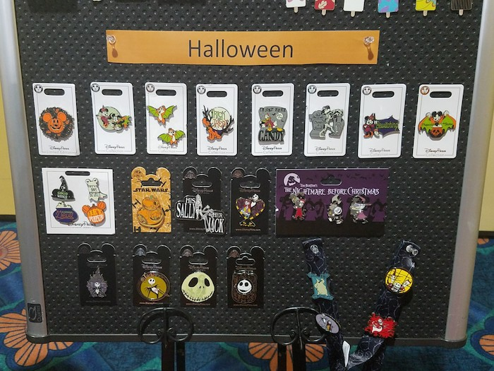 Halloween 2018 Disney Pin Preview