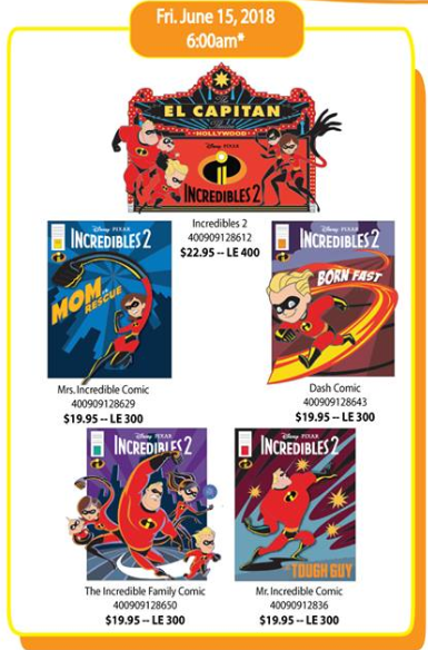 Incredibles 2 DSSH Pins