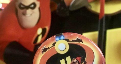 Incredibles 2 Disney Button