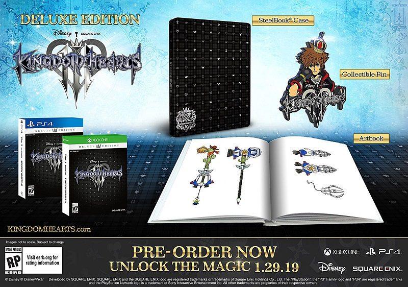 Kingdom Hearts 3 Pre-Order
