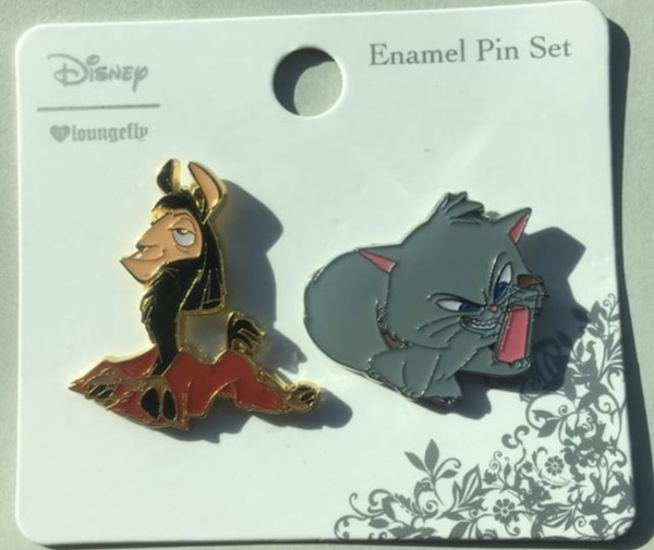 Kuzco Llama and Yzma Cat Pin Set