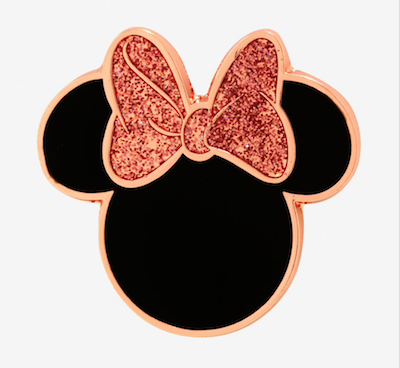 Minnie Mouse Rose Gold Pin