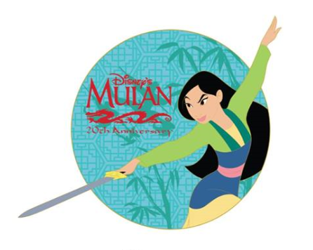 Mulan 20th Anniversary DSSH Pin