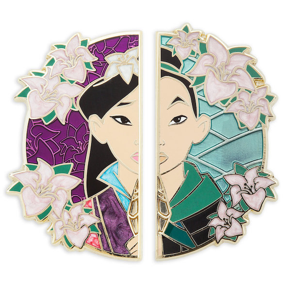 Mulan 20th Anniversary Limited Edition Pin Set