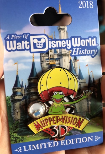 Muppet Vision 3D Piece of History Pin