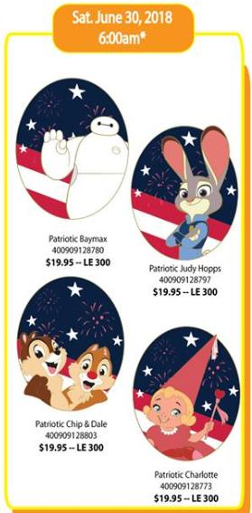 Patriotic DSSH Pins