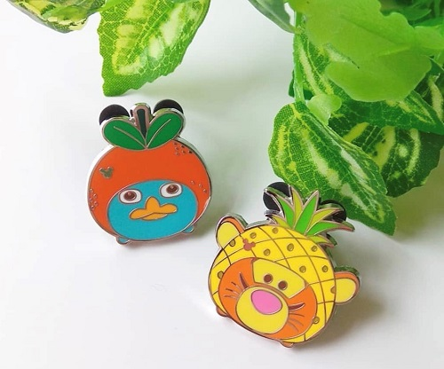 Perry and Tigger HKDL Hidden Mickey Pins