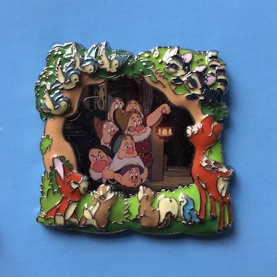 Seven Dwarfs Movie Frame Pin
