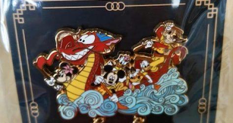 Shanghai Disney Sports Carnival 2018 Pin