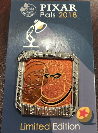 The Incredibles Pixar Fest AP Pin