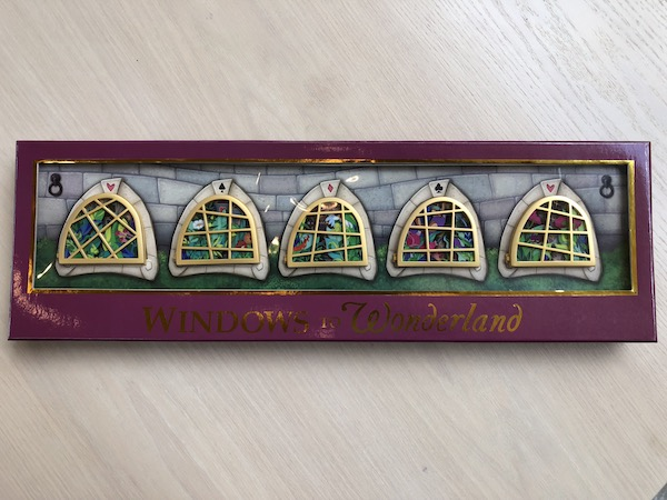 Windows to Wonderland Pin Set