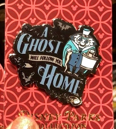 A Ghost Will Follow You Home Pin