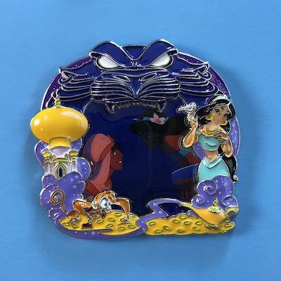 Aladdin and Jasmine Park Pack Disney Pin