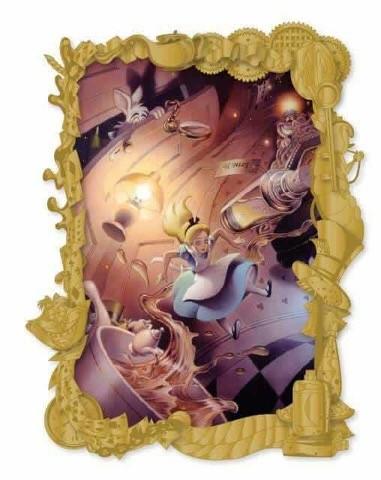 Alice in Wonderland Fantastic Lands II Acme Pin