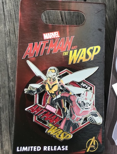 Ant-Man and the Wasp Surprise Pin