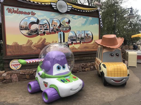 Buzz & Woody - Cars Land