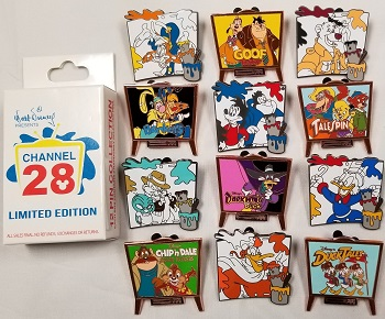 Channel 28 Mystery Pin Set
