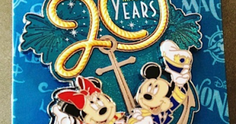 DCL 20 Magical Years Pin